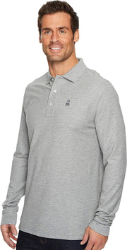 Mens Long Sleeve Classic Polo