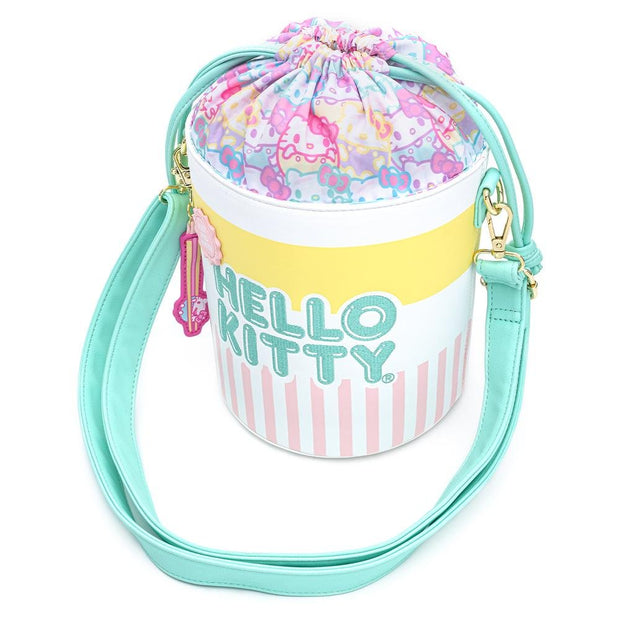 Sanrio Hello Kitty Cup o' Kitty Bucket Crossbody