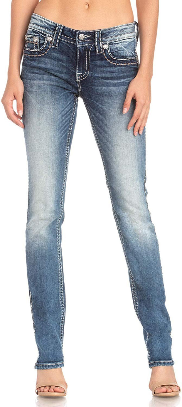 Hint Of Classics Straight Jeans