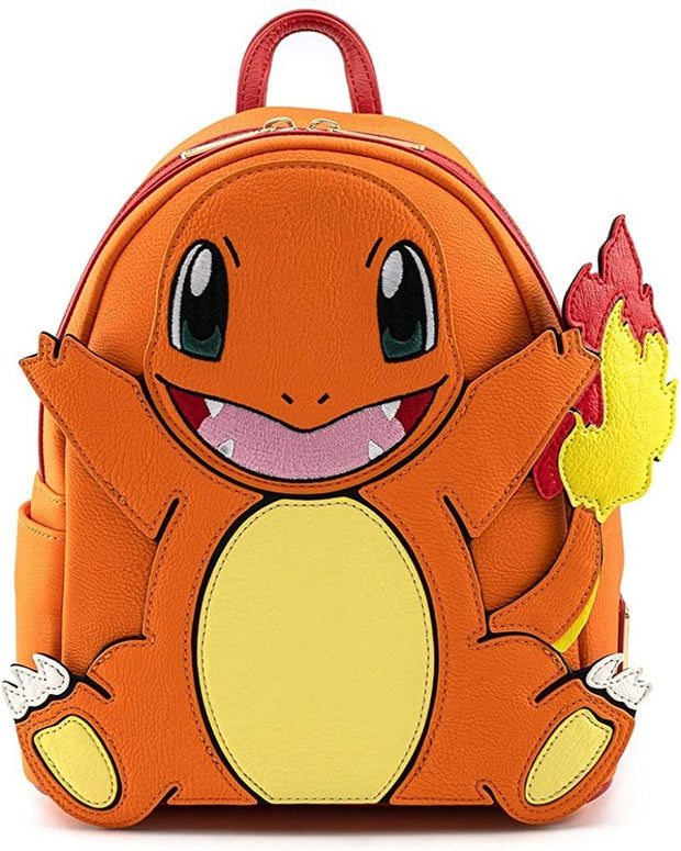 Pokemon Charmander Cosplay Mini Backpack