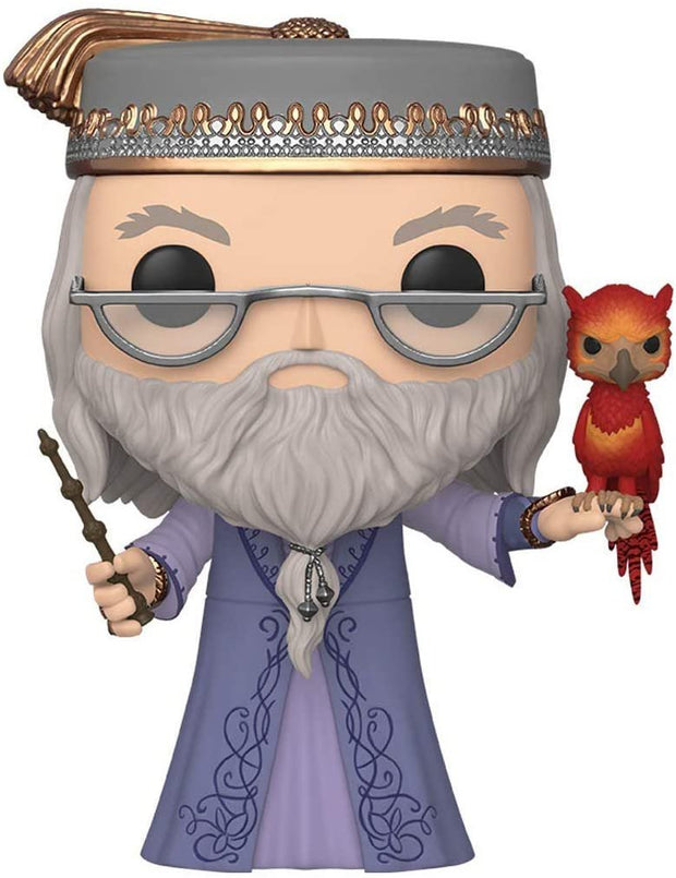 "Harry Potter Dumbledore with Fawkes 10"" Super Sized POP! Vinyl Figure"