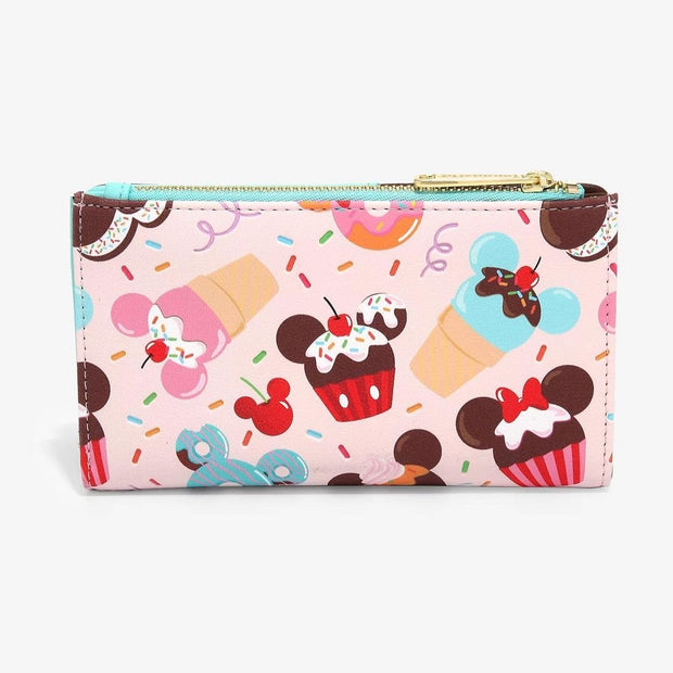 Disney Mickey & Minnie Mouse Sweets Flap Wallet - February Preorder