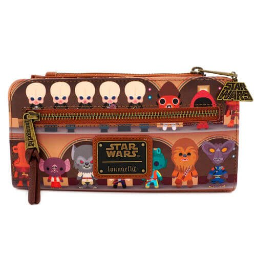 Loungefly x Star Wars Cantina Scene Bifold Wallet - BACK