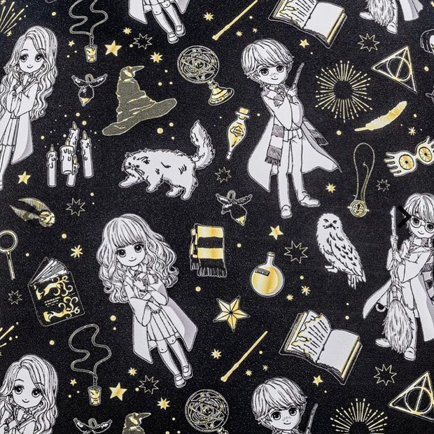Harry Potter Magical Elements Allover Print Crossbody - May Preorder