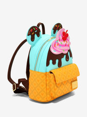Disney Mickey & Minnie Sweets Ice Cream Mini Backpack - side