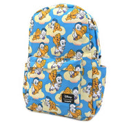 LOUNGEFLY X DISNEY HERCULES BABY HERC AND PEGASUS NYLON BACKPACK - SIDE