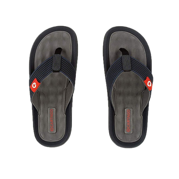 CARTAGO DUNAS VI MEN'S SANDALS CONFORMING EVA INSOLE - GREY BLUE TOP