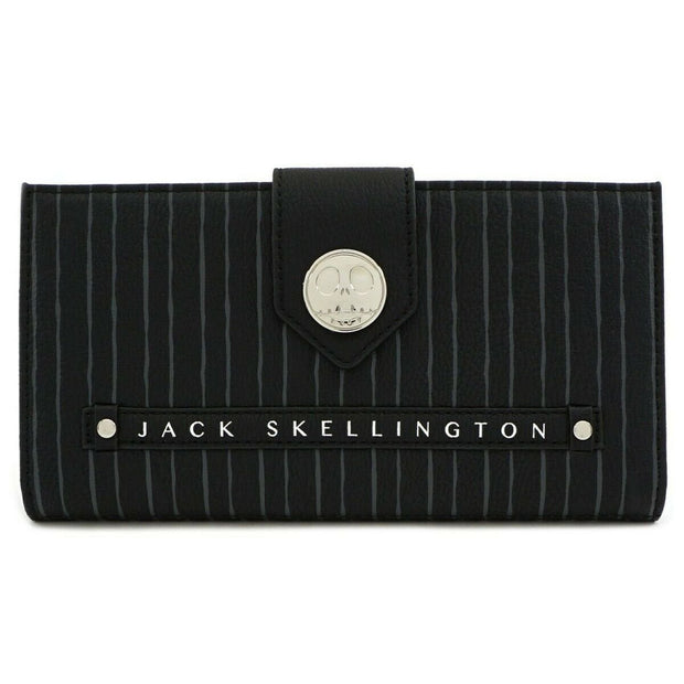 Loungefly x Nightmare Before Christmas Jack Skellington Flap Wallet - FRONT