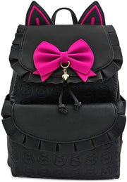 Blizzard Overwatch D.VA Ruffled Trim Cat Ears Mini Backpack