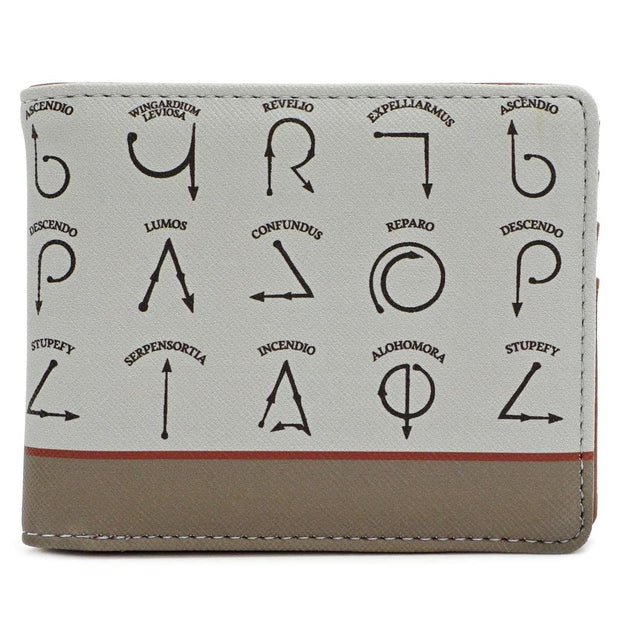 LOUNGEFLY X HARRY POTTER SPELLS WALLET - FRONT
