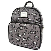 LOUNGEFLY X DISNEY MICKEY MOUSE PLANE CRAZY MINI BACKPACK - SIDE
