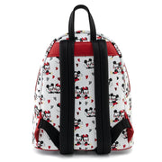 Disney Mickey and Minnie Mouse Heart Allover Print Mini Backpack