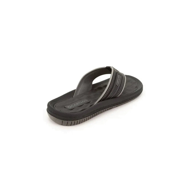 CARTAGO DUNAS II MEN'S SANDALS - BLACK GREY SIDE