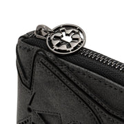 Loungefly x Star Wars Darth Vader Head Zip-Around Wallet - DETAIL