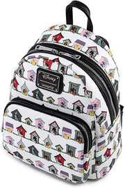 Disney Dog Houses Allover Print Mini Backpack