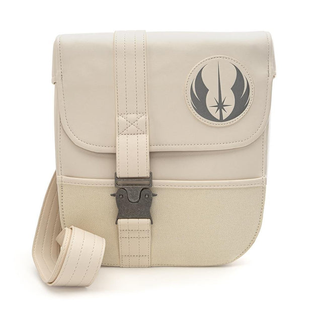 LOUNGEFLY X STAR WARS REY COSPLAY SLING BAG - FRONT