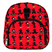 LOUNGEFLY X DISNEY MICKEY MOUSE PARTS AOP NYLON DUFFLE BAG - SIDE