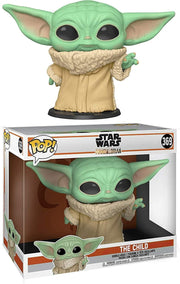 "Star Wars The Mandalorian The Child Baby Yoda 10"" Super Sized POP! Vinyl Figure"