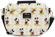 Disney Mickey Mouse Hardware Allover Print Crossbody