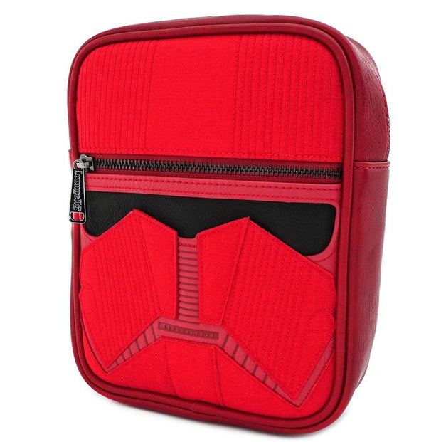 LOUNGEFLY X STAR WARS RED SITH TROOPER CROSSBODY BAG - SIDE