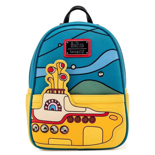 The Beatles Yellow Submarine Mini Backpack - Front