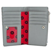 Loungefly x Star Wars Polka Dot Death Star Patterned Wallet - INSIDE PRINT