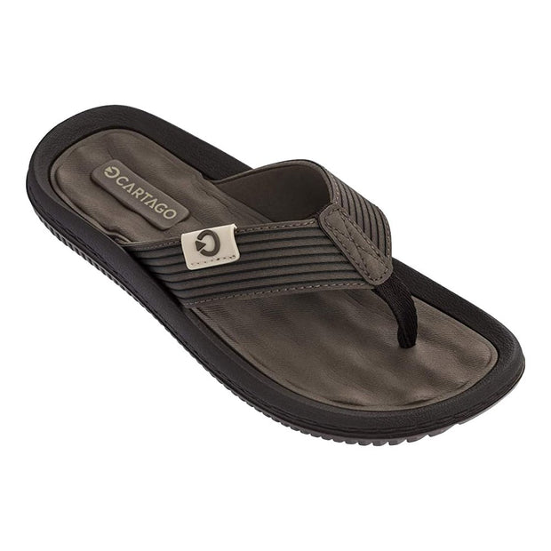 CARTAGO DUNAS VI MEN'S SANDALS CONFORMING EVA INSOLE - BROWN FRONT