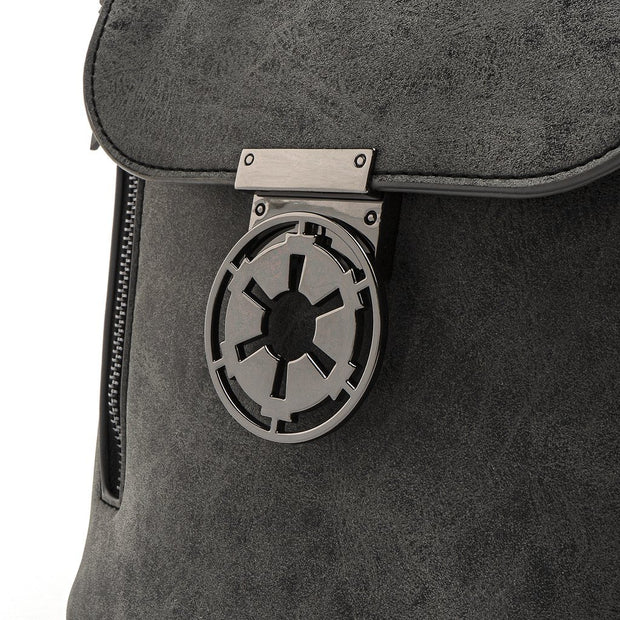 Loungefly x Star Wars Imperial Convertible Mini Backpack - DETAIL