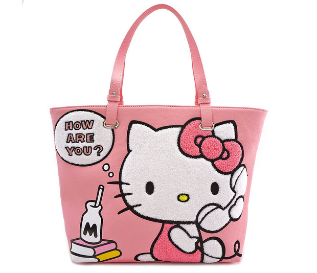 Loungefly x Hello Kitty Telephone Tote Bag - FRONT