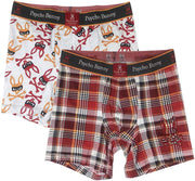 Mens Knit Boxer Briefs Gift Set - 2-Pack