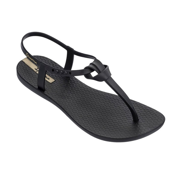 IPANEMA WOMEN'S ELLIE T-STRAP SANDALS - BLACK