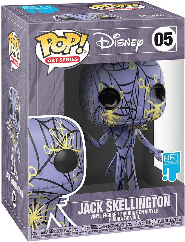 Disney Nightmare Before Christmas Jack Skellington Artist's Series POP! VInyl Figure