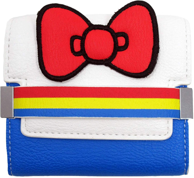 Sanrio Hello Kitty 45th Anniversary Striped Flap Wallet