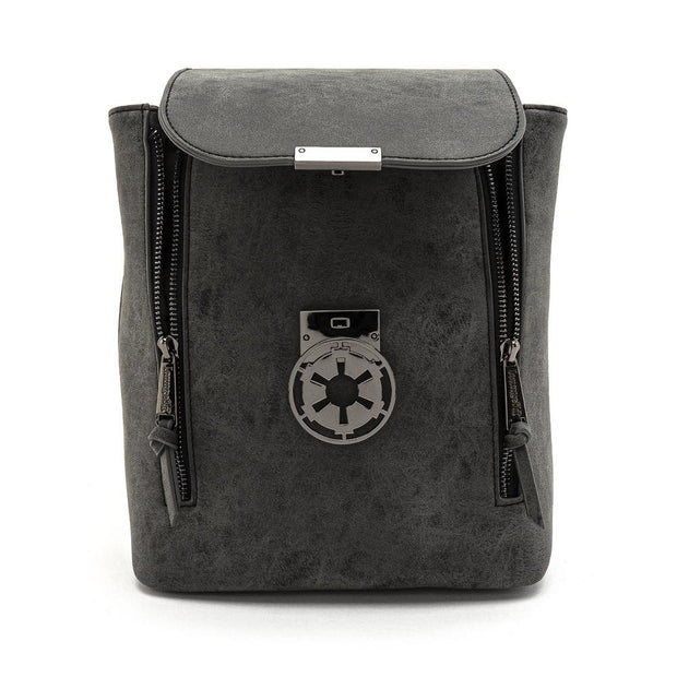 Loungefly x Star Wars Imperial Convertible Mini Backpack - OPENED UNZIPPED