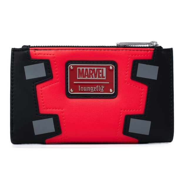 Marvel Deadpool Merc with a Mouth Cosplay Flap Wallet