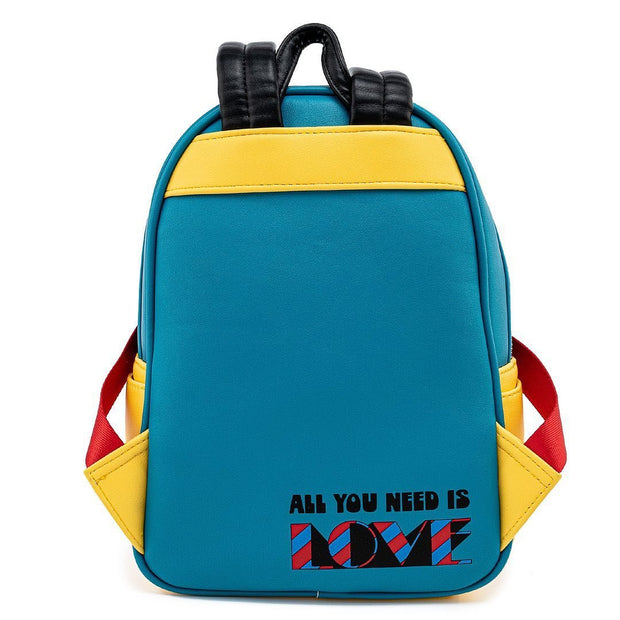 The Beatles Yellow Submarine Mini Backpack - Back