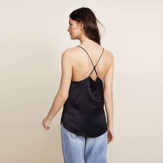 Everly Charmeuse Silk Top