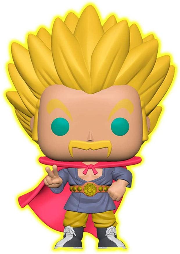 Dragon Ball Super Glow in the Dark Super Saiyan Hercule POP! Vinyl FIgure