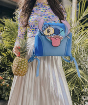Danielle Nicole x Disney Lilo & Stitch Pineapple Backpack