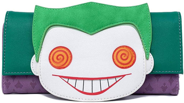 Funko POP! DC Comics Joker Head Tri-Fold Wallet