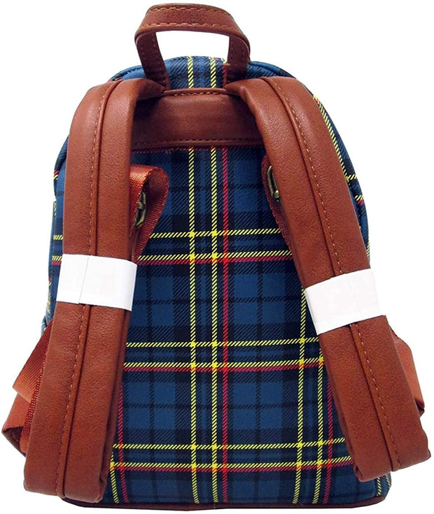 Pokemon Pikachu Tartan Plaid Mini Backpack