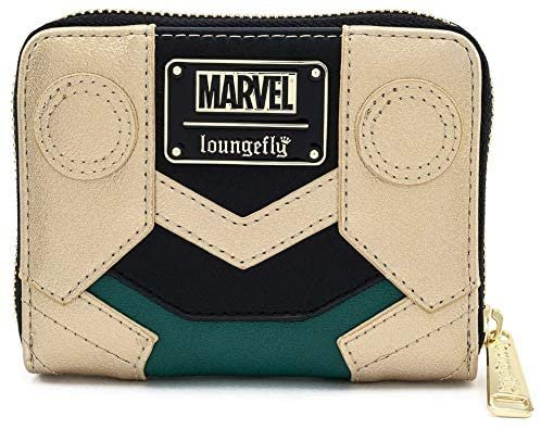 Marvel Loki Cosplay Classic Zip Around Wallet