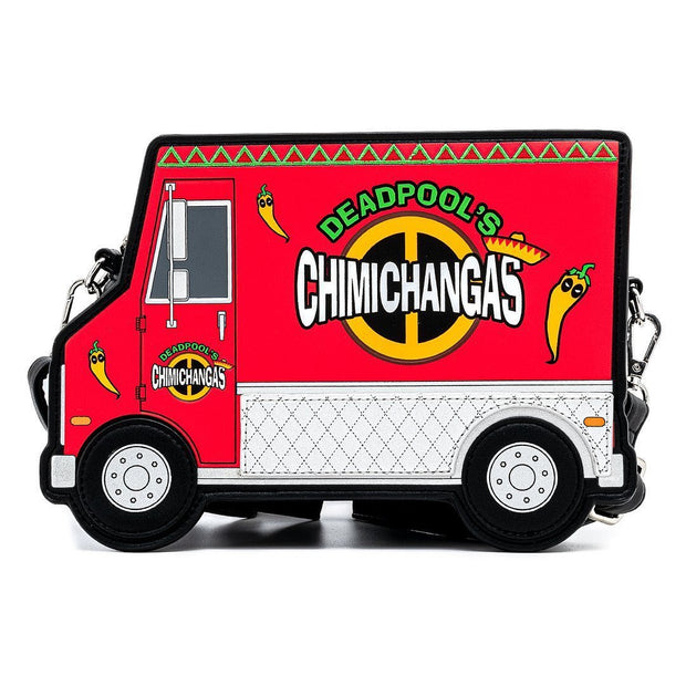 Funko POP! Marvel Deadpool 30th Anniversary Chimichangas Food Truck Crossbody - April Preorder