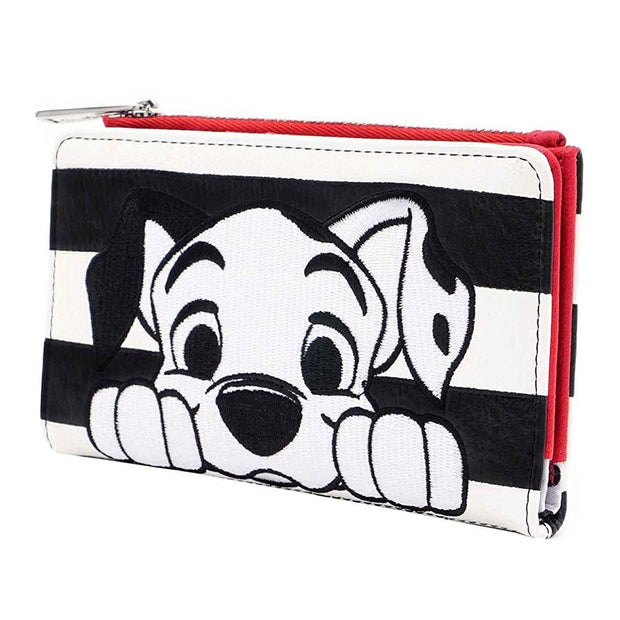 Loungefly x Disney 101 Dalmatians Striped Faux Leather Wallet - SIDE