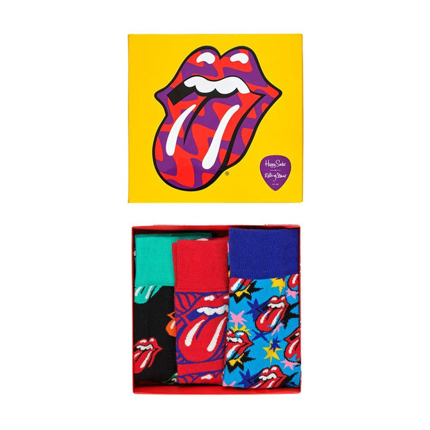 Rolling Stones Socks Box Set - 3-Pack