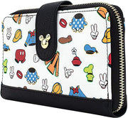 Disney Sensational 6 Outfits Allover Print Wallet