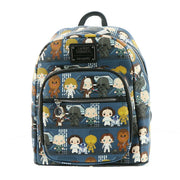 Loungefly x Star Wars A New Hope Chibi Characters Mini Backpack - FRONT