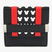 Loungefly x Disney Mickey Mouse Flap Mini Wallet - FRONT