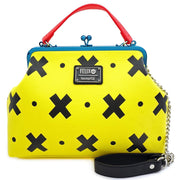 LOUNGEFLY X FELIX THE CAT 100TH ANNIVERSARY KISSLOCK CROSSBODY BAG - BACK