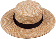 Spencer Straw Boater Hat